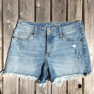 ☀️3/$25 Universal Thread Frayed Jean Shorts